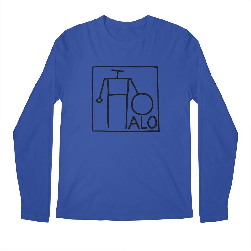 Stick Figure by Hobo Artist Men's Regular Longsleeve T-Shirt by Pantheon Steel Fan-Art Store