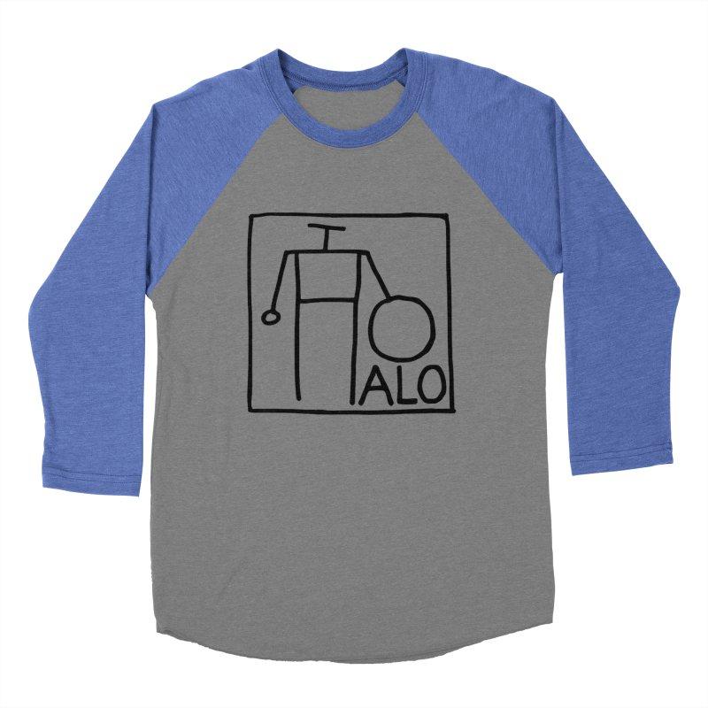 Stick Figure by Hobo Artist Women's Baseball Triblend Longsleeve T-Shirt by Pantheon Steel Fan-Art Store
