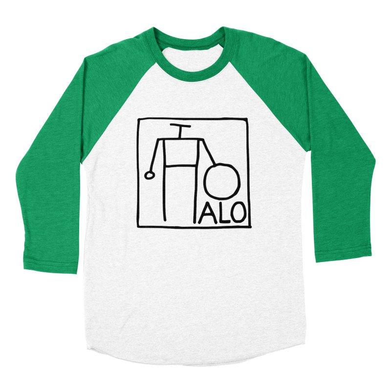 Stick Figure by Hobo Artist Men's Baseball Triblend Longsleeve T-Shirt by Pantheon Steel Fan-Art Store