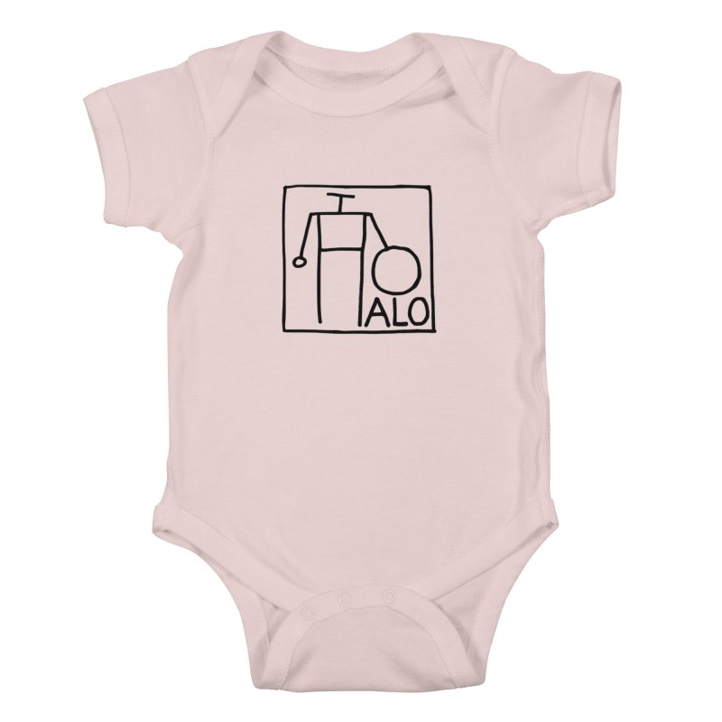 Stick Figure by Hobo Artist Kids Baby Bodysuit by Pantheon Steel Fan-Art Store
