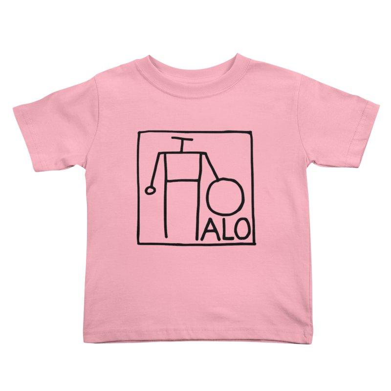 Stick Figure by Hobo Artist Kids Toddler T-Shirt by Pantheon Steel Fan-Art Store