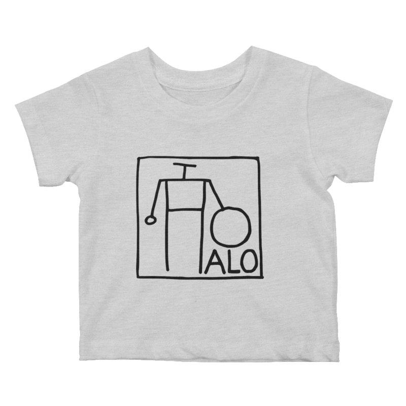 Stick Figure by Hobo Artist Kids Baby T-Shirt by Pantheon Steel Fan-Art Store