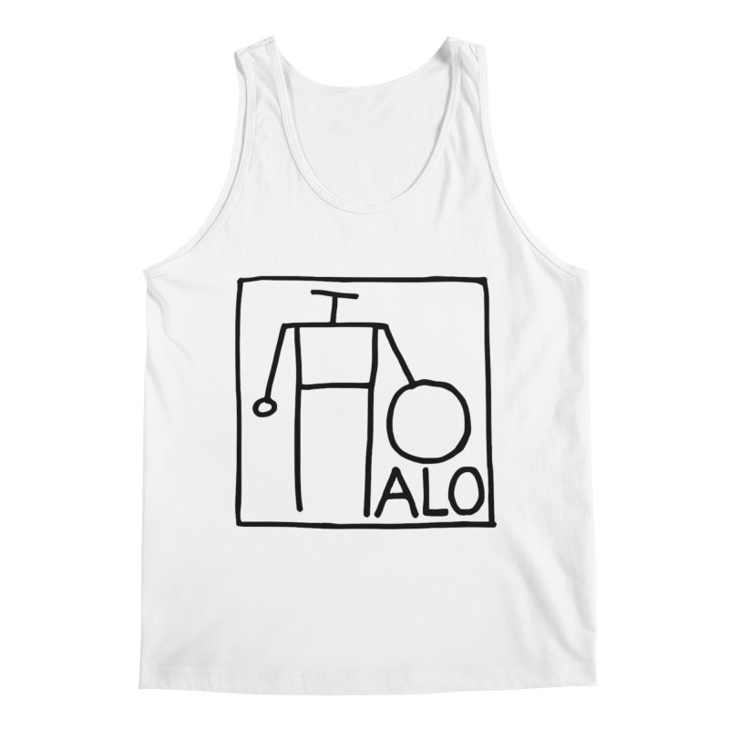 Stick Figure by Hobo Artist Men's Regular Tank by Pantheon Steel Fan-Art Store