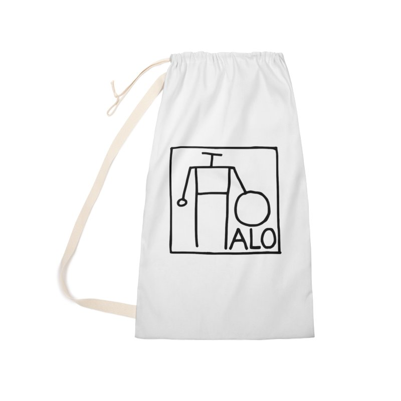 Stick Figure by Hobo Artist Accessories Laundry Bag Bag by Pantheon Steel Fan-Art Store