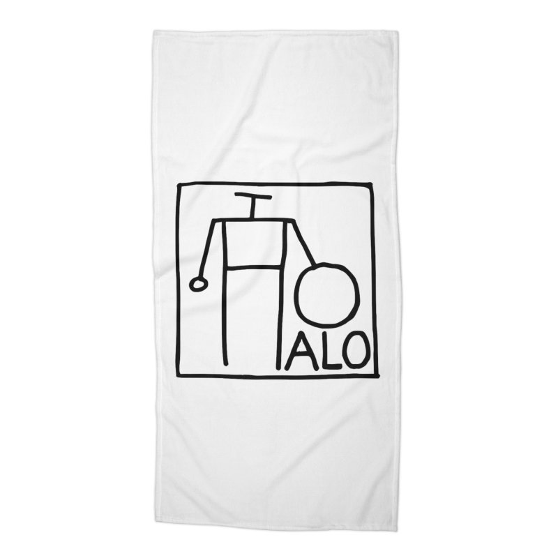 Stick Figure by Hobo Artist Accessories Beach Towel by Pantheon Steel Fan-Art Store