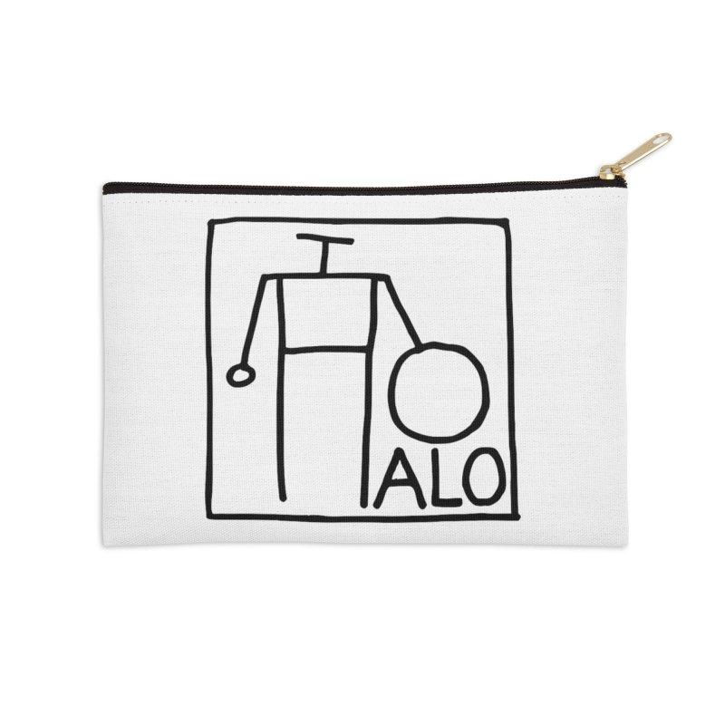 Stick Figure by Hobo Artist Accessories Zip Pouch by Pantheon Steel Fan-Art Store
