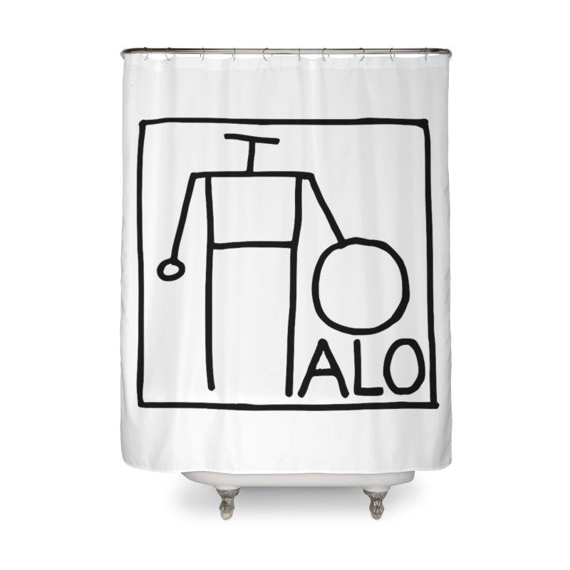 Stick Figure by Hobo Artist Home Shower Curtain by Pantheon Steel Fan-Art Store