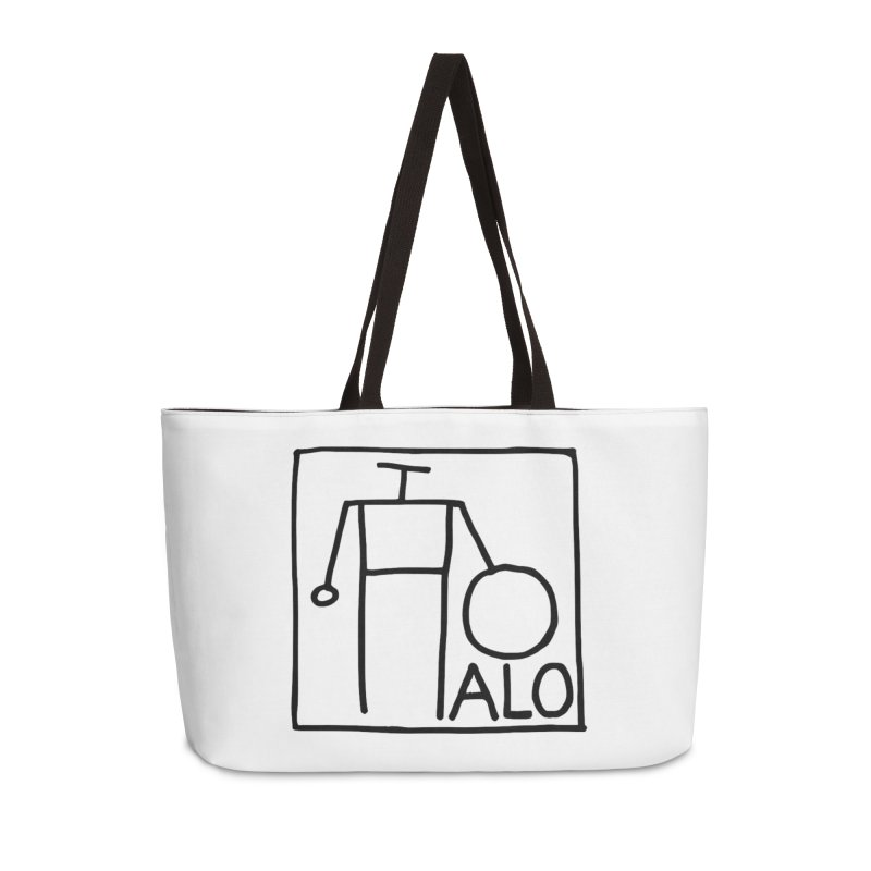 Stick Figure by Hobo Artist Accessories Weekender Bag Bag by Pantheon Steel Fan-Art Store