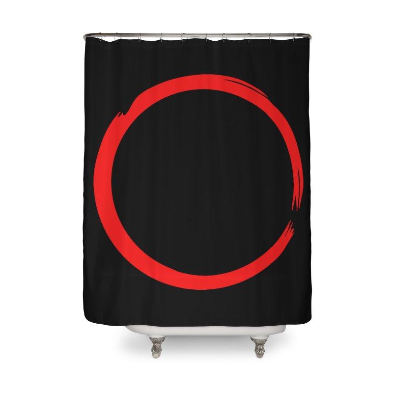 Ensō Home Shower Curtain by Pantheon Steel Fan-Art Store