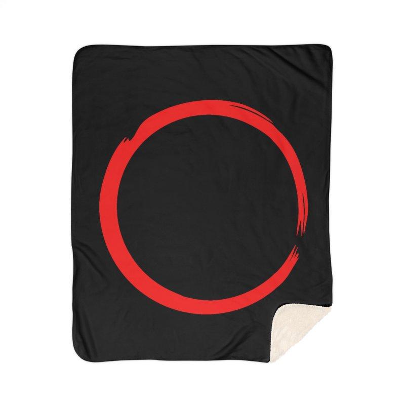 Ensō Home Sherpa Blanket Blanket by Pantheon Steel Fan-Art Store