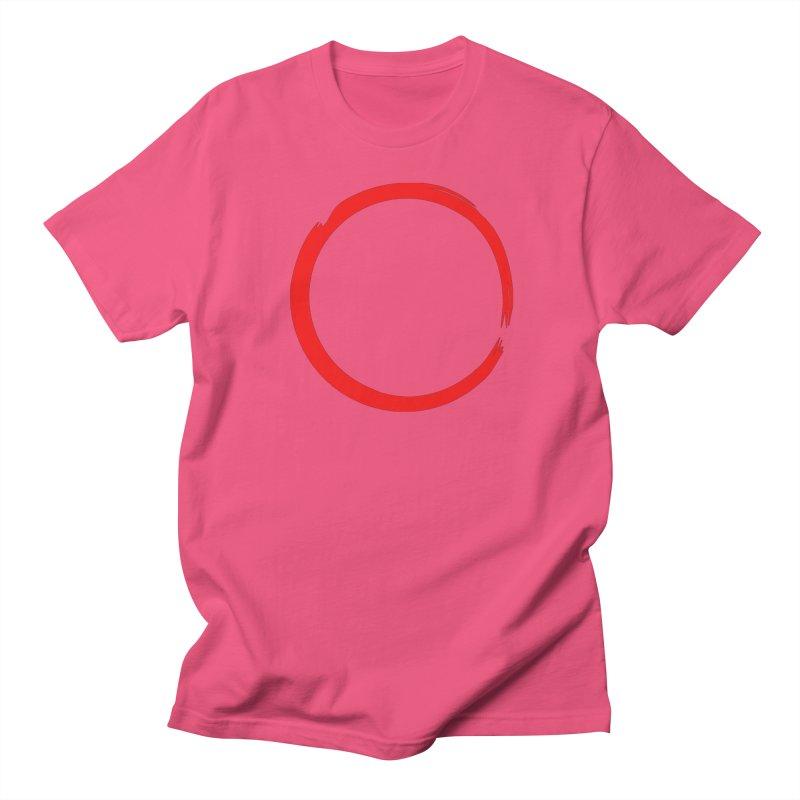 Ensō Men's Regular T-Shirt by Pantheon Steel Fan-Art Store