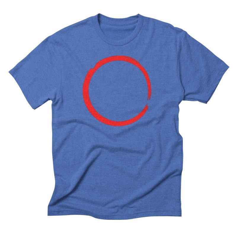 Ensō Men's T-Shirt by Pantheon Steel Fan-Art Store