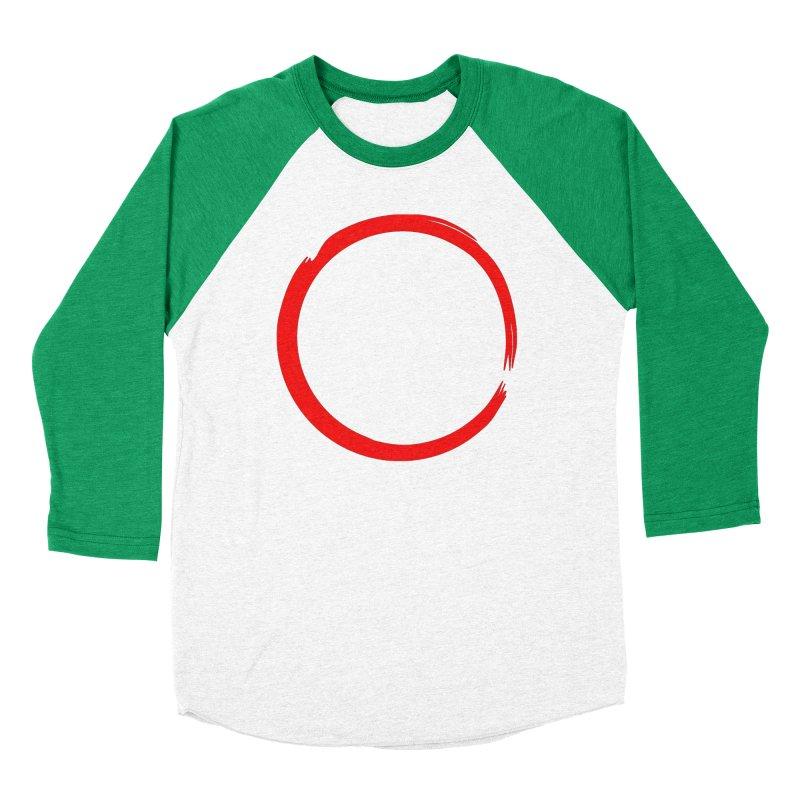 Ensō Women's Baseball Triblend Longsleeve T-Shirt by Pantheon Steel Fan-Art Store