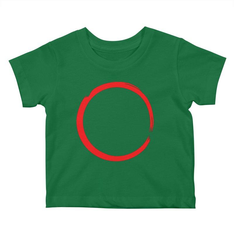 Ensō Kids Baby T-Shirt by Pantheon Steel Fan-Art Store