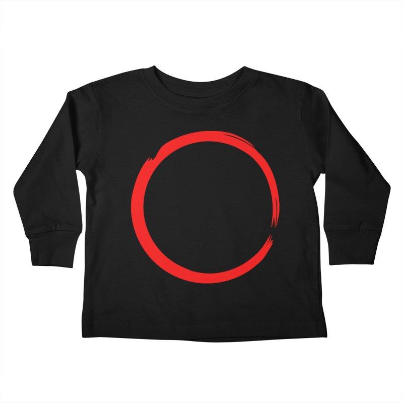 Ensō Kids Toddler Longsleeve T-Shirt by Pantheon Steel Fan-Art Store