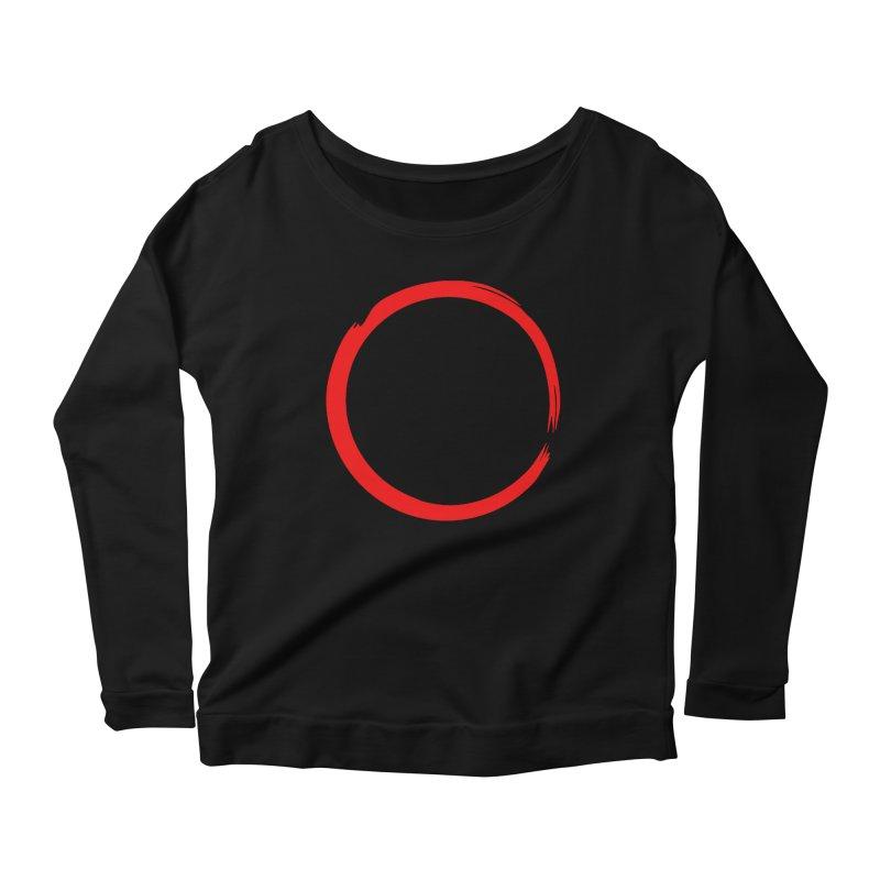 Ensō Women's Scoop Neck Longsleeve T-Shirt by Pantheon Steel Fan-Art Store