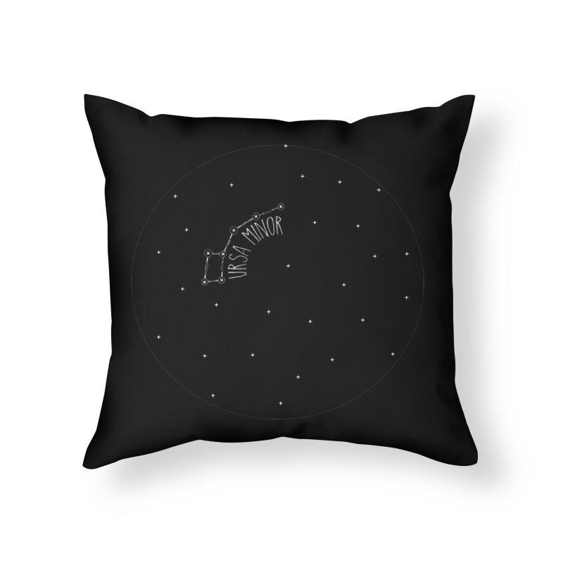 Ursa Minor Home Throw Pillow by Pantheon Steel Fan-Art Store