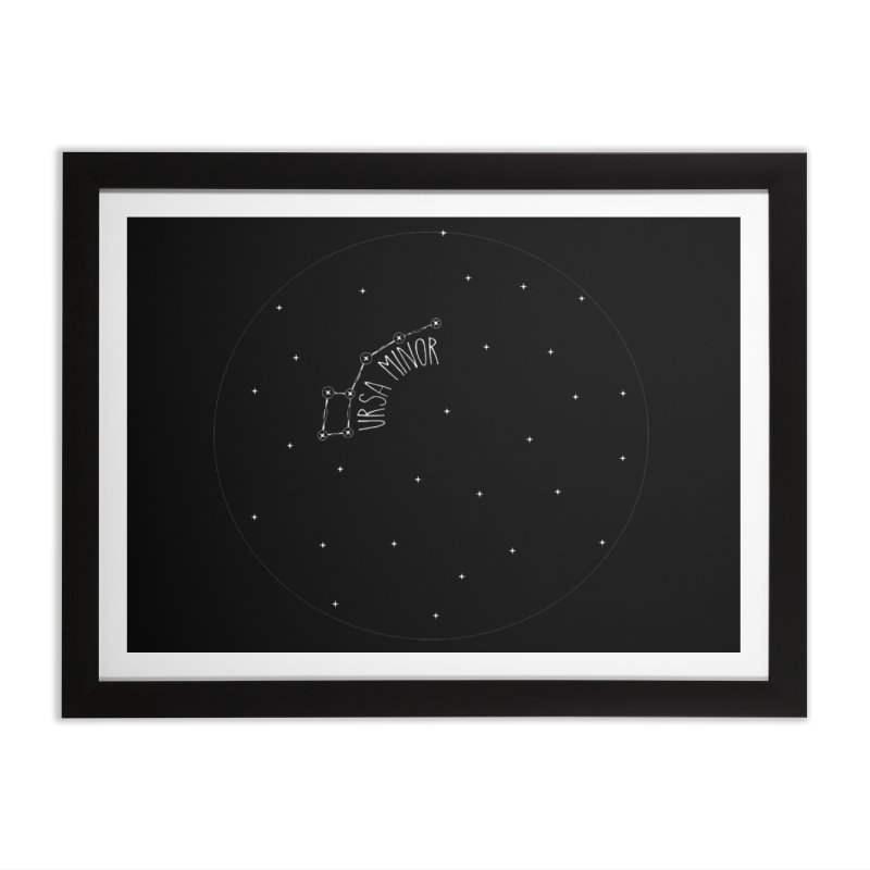 Ursa Minor Home Framed Fine Art Print by Pantheon Steel Fan-Art Store