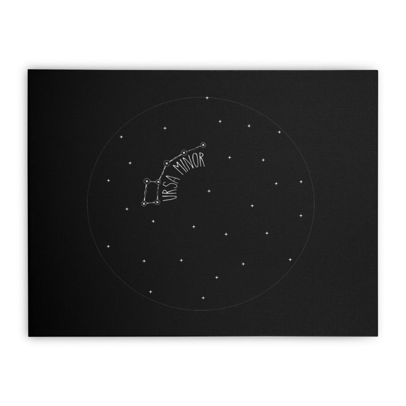 Ursa Minor Home Stretched Canvas by Pantheon Steel Fan-Art Store