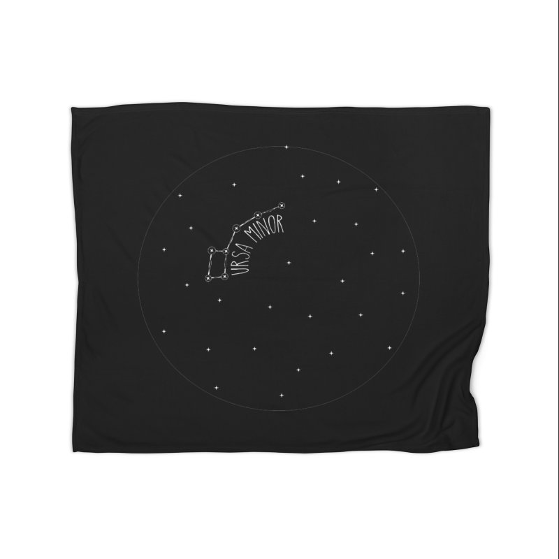 Ursa Minor Home Fleece Blanket Blanket by Pantheon Steel Fan-Art Store