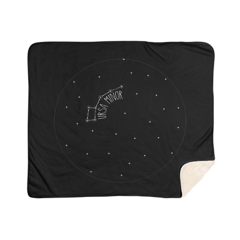 Ursa Minor Home Sherpa Blanket Blanket by Pantheon Steel Fan-Art Store