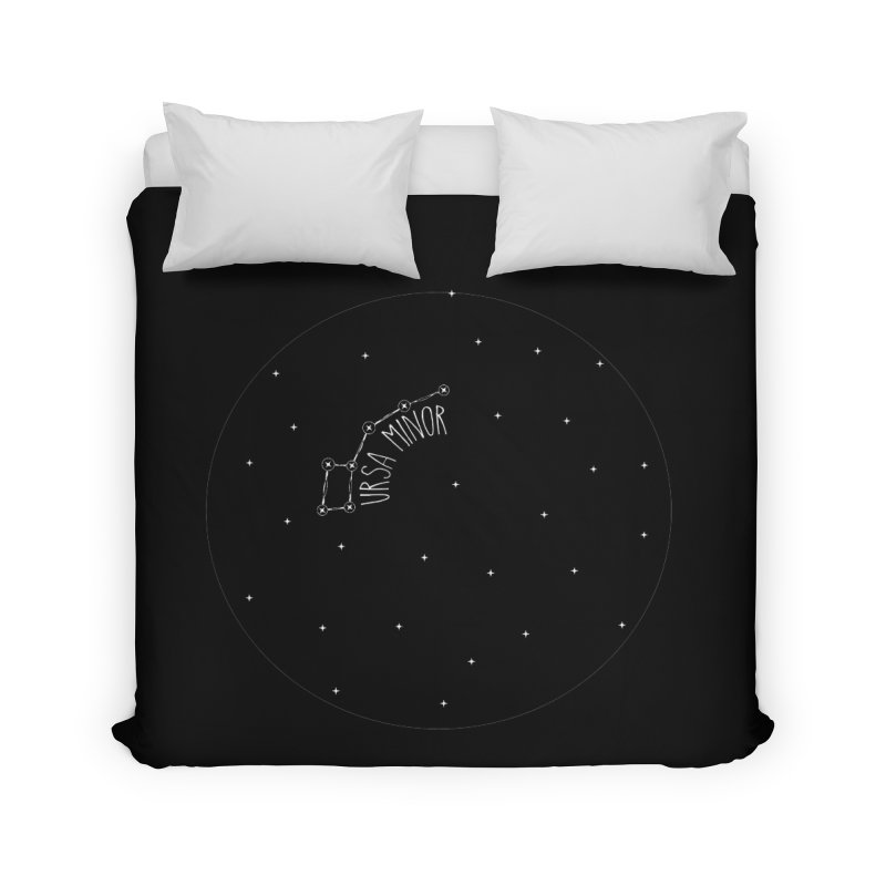 Ursa Minor Home Duvet by Pantheon Steel Fan-Art Store