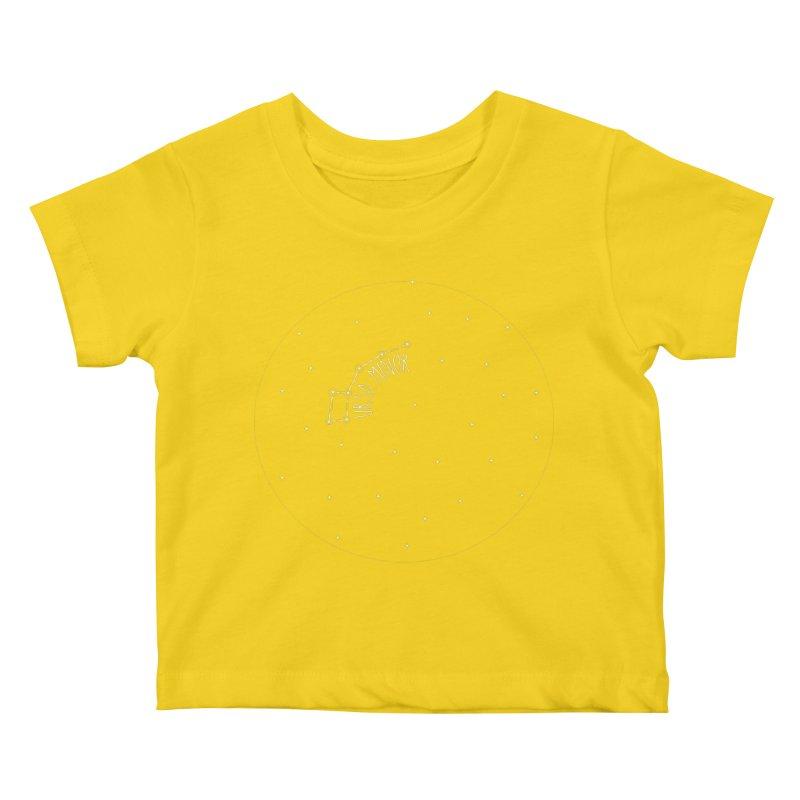 Ursa Minor Kids Baby T-Shirt by Pantheon Steel Fan-Art Store