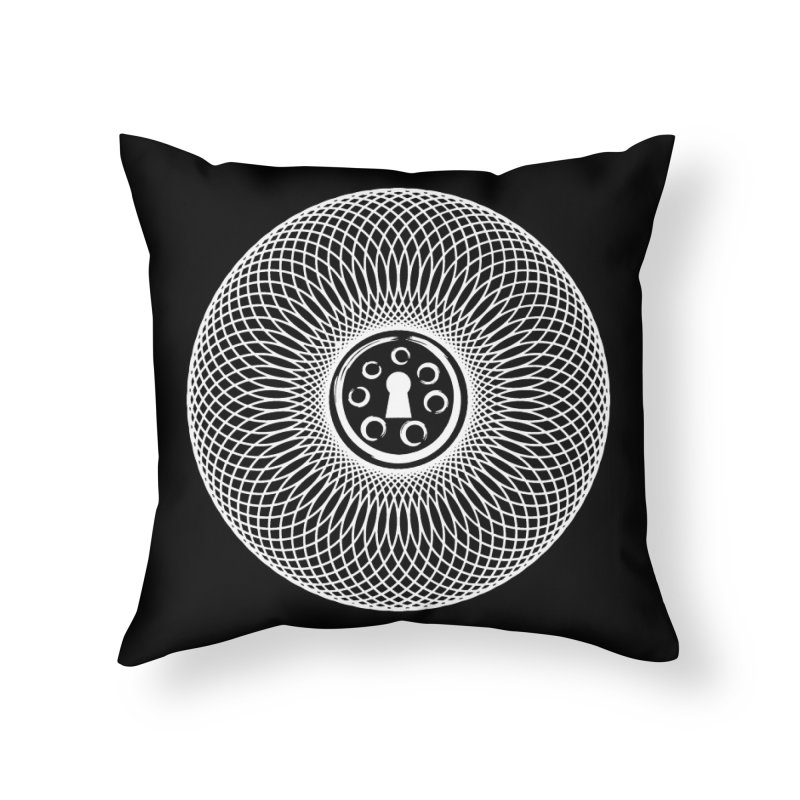 Key Home Throw Pillow by Pantheon Steel Fan-Art Store