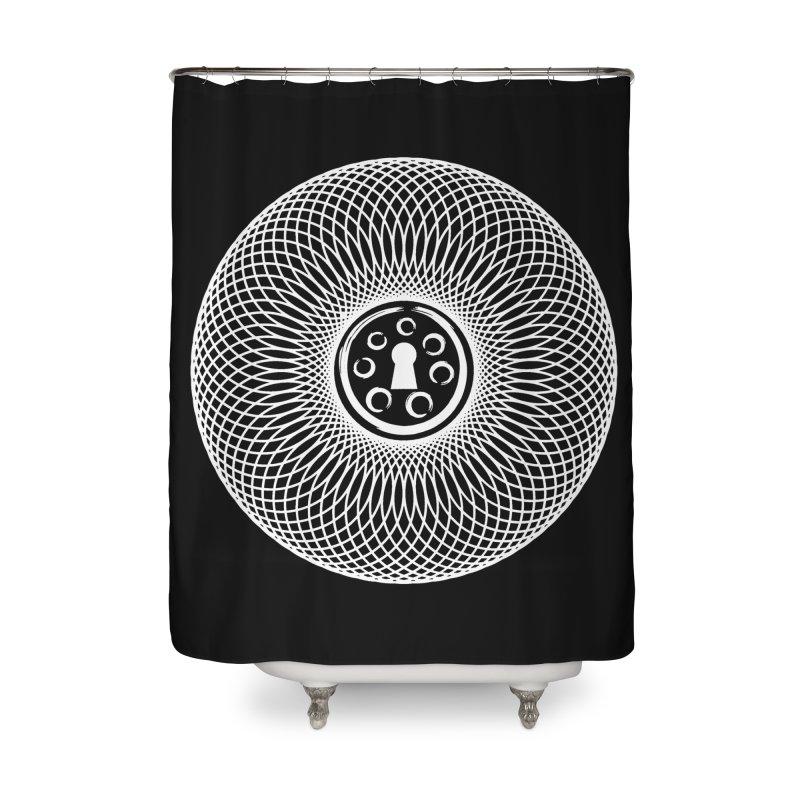 Key Home Shower Curtain by Pantheon Steel Fan-Art Store