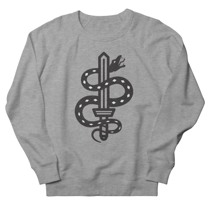 Snake and Dagger Men's Sweatshirt by Paolo Geronimo's Artist Shop