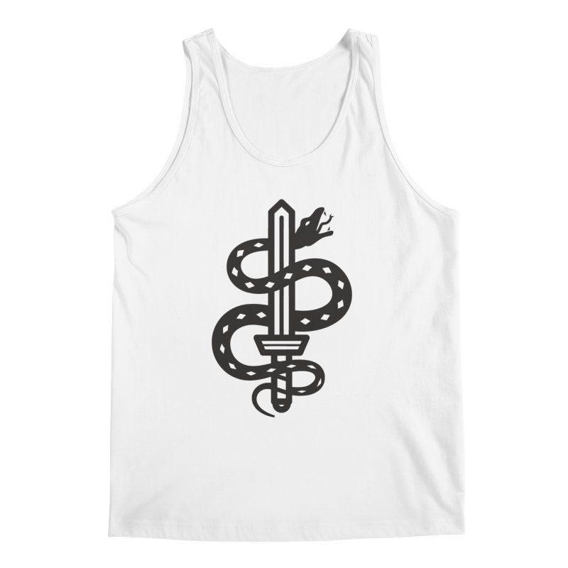 Snake and Dagger Men's Tank by Paolo Geronimo's Artist Shop