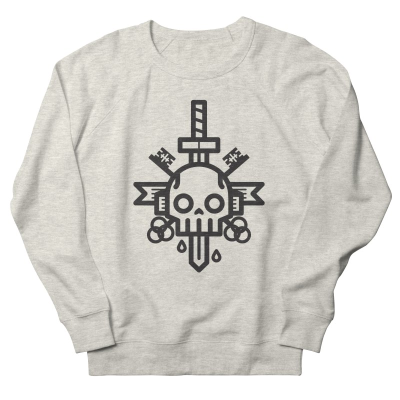 Tongues like knives Men's Sweatshirt by Paolo Geronimo's Artist Shop