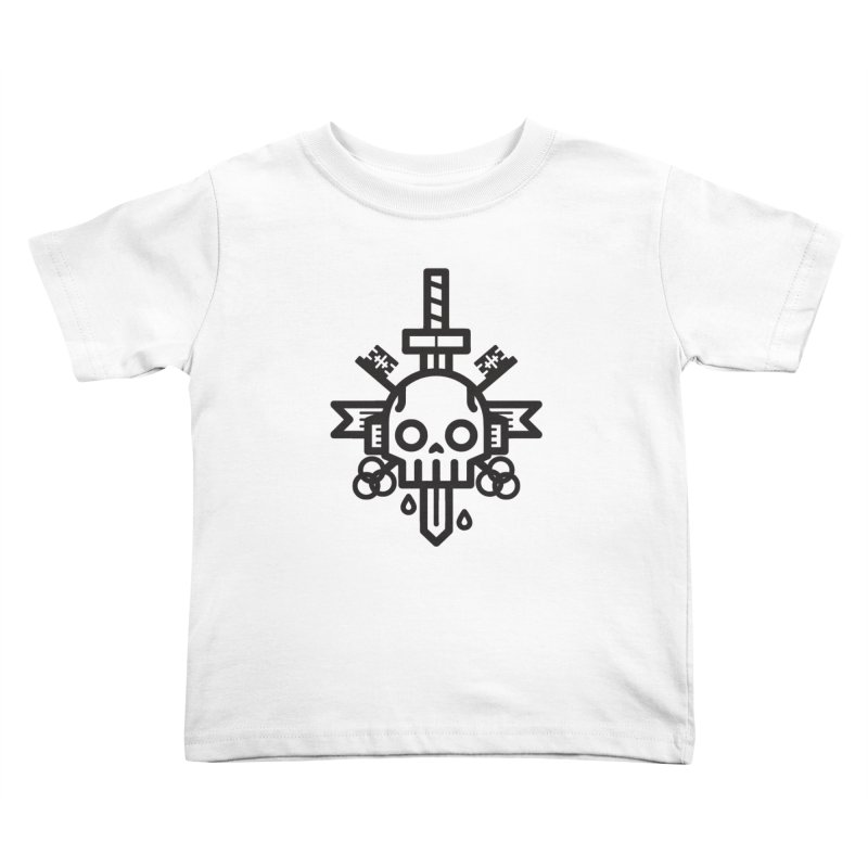 Tongues like knives Kids Toddler T-Shirt by Paolo Geronimo's Artist Shop
