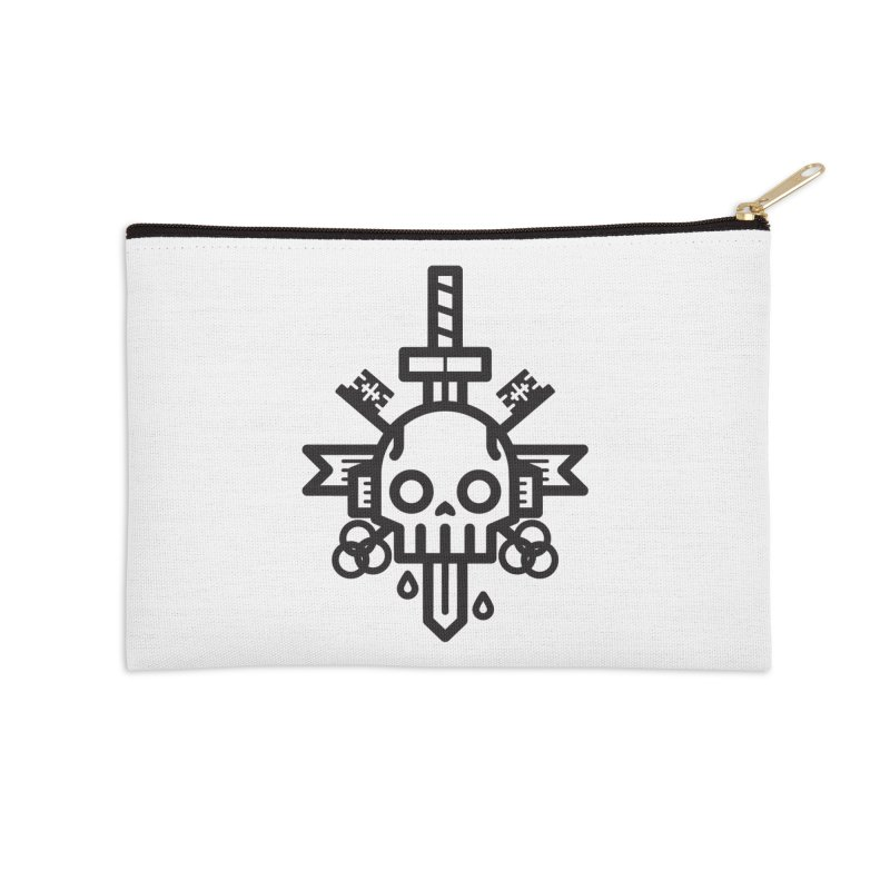 Tongues like knives Accessories Zip Pouch by Paolo Geronimo's Artist Shop