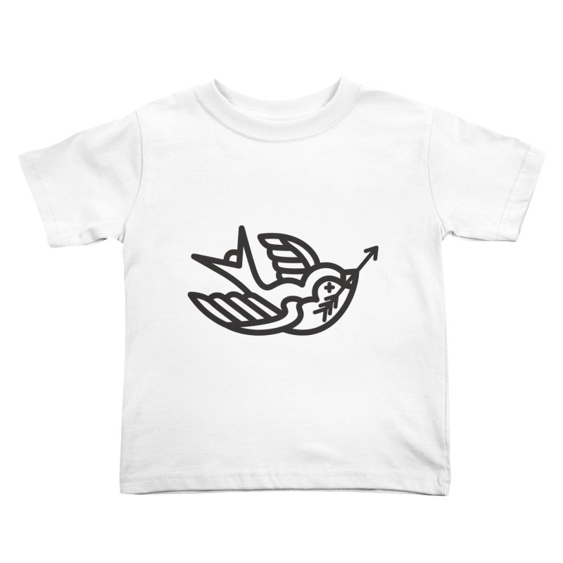 Birdie Kids Toddler T-Shirt by Paolo Geronimo's Artist Shop