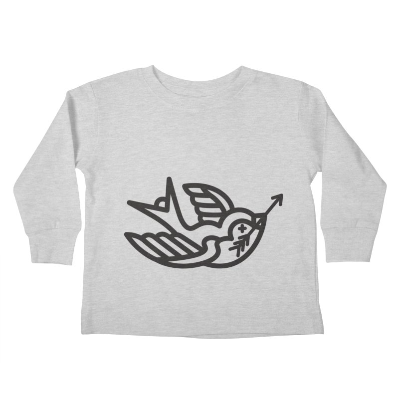 Birdie Kids Toddler Longsleeve T-Shirt by Paolo Geronimo's Artist Shop
