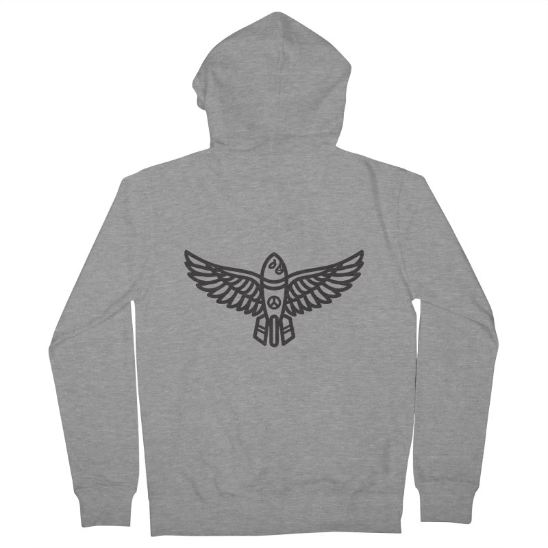 Drop Names not Bombs Men's Zip-Up Hoody by Paolo Geronimo's Artist Shop
