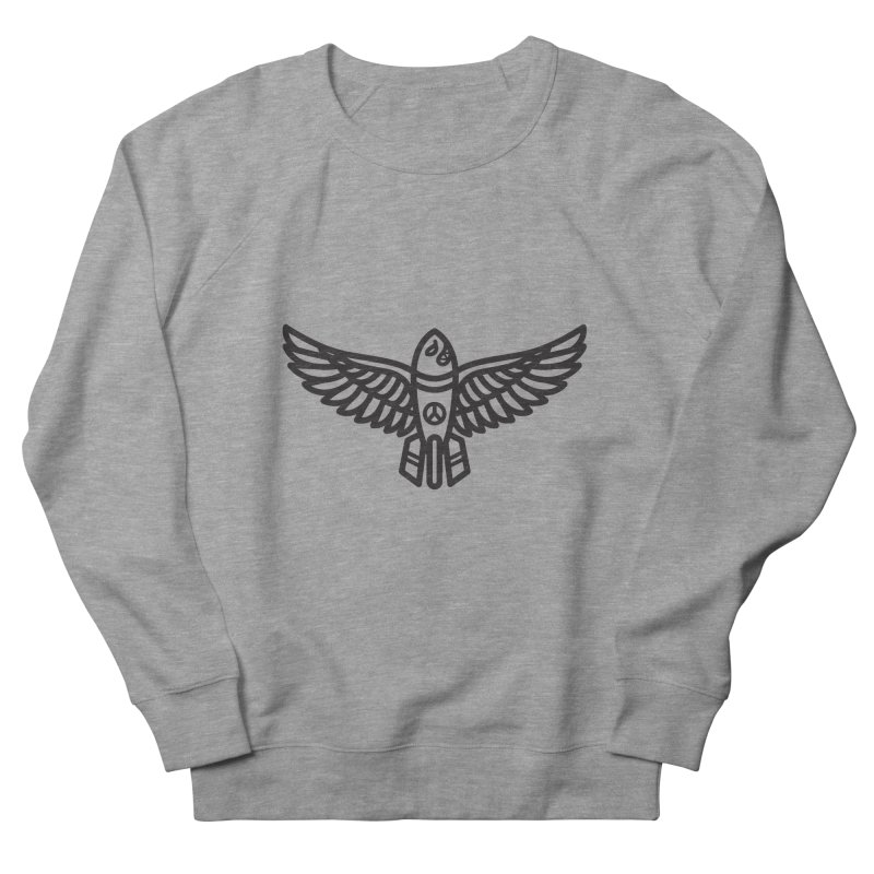 Drop Names not Bombs Men's Sweatshirt by Paolo Geronimo's Artist Shop