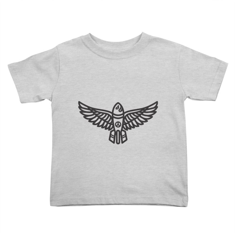 Drop Names not Bombs Kids Toddler T-Shirt by Paolo Geronimo's Artist Shop