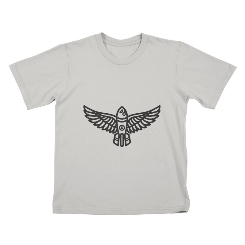 Drop Names not Bombs Kids T-Shirt by Paolo Geronimo's Artist Shop