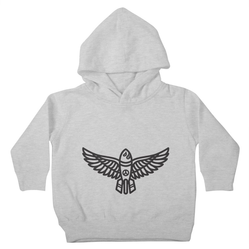 Drop Names not Bombs Kids Toddler Pullover Hoody by Paolo Geronimo's Artist Shop