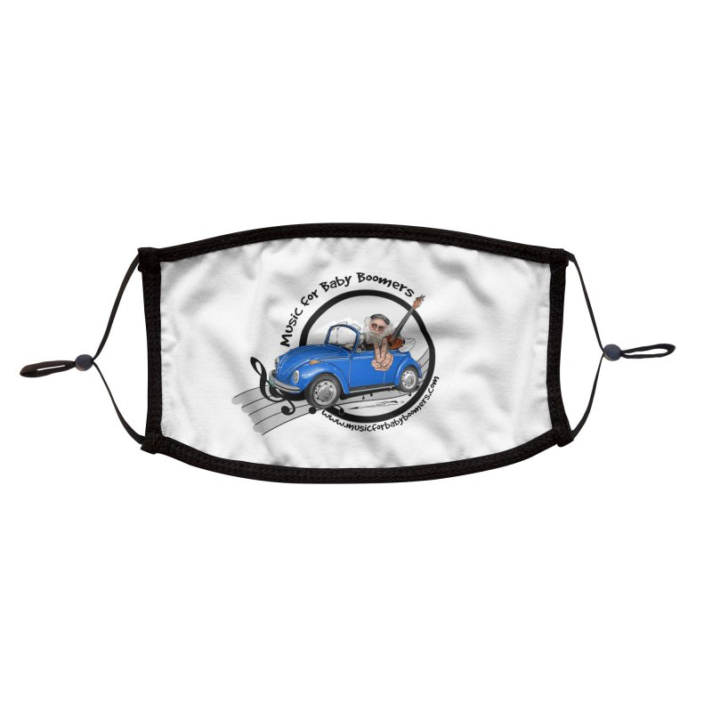 Music for Baby Boomers VW Accessories Face Mask by PapaGreyBeard's Merchandise