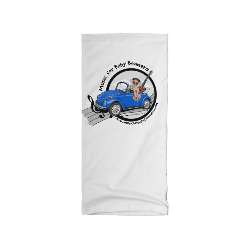 Music for Baby Boomers VW Accessories Neck Gaiter by PapaGreyBeard's Merchandise