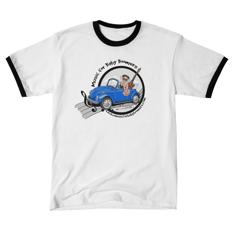 Music for Baby Boomers VW Men's T-Shirt by PapaGreyBeard's Merchandise