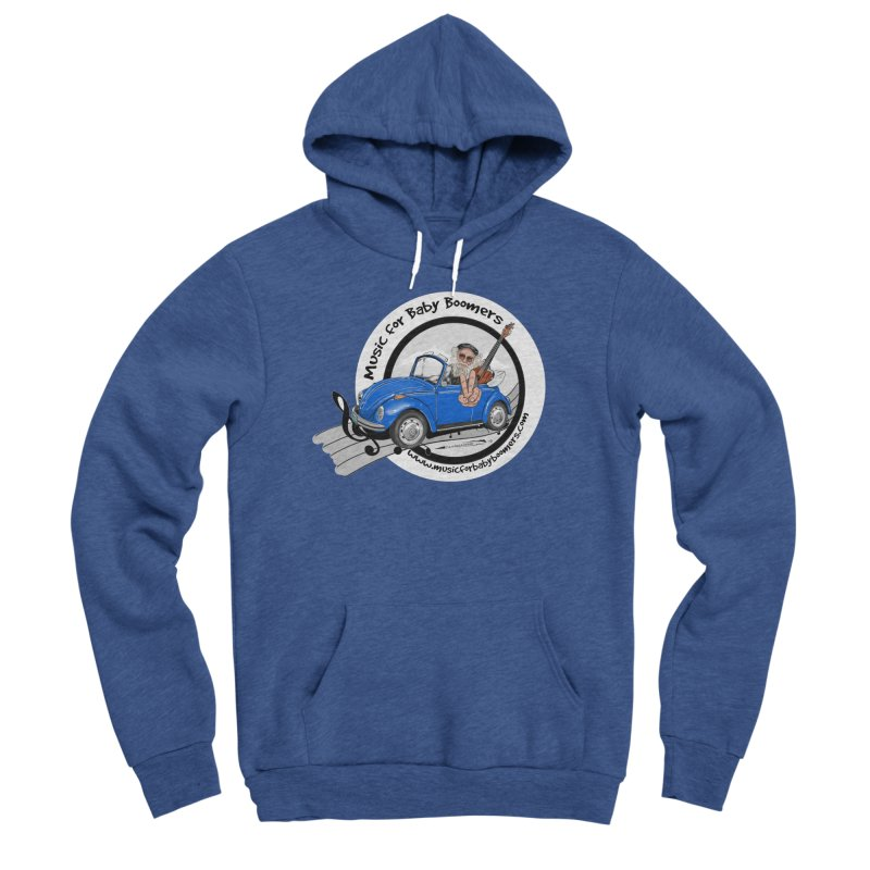 Music for Baby Boomers VW Men's Pullover Hoody by PapaGreyBeard's Merchandise