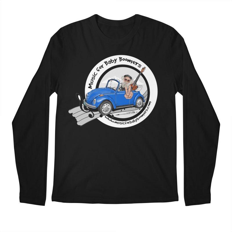 Music for Baby Boomers VW Men's Longsleeve T-Shirt by PapaGreyBeard's Merchandise