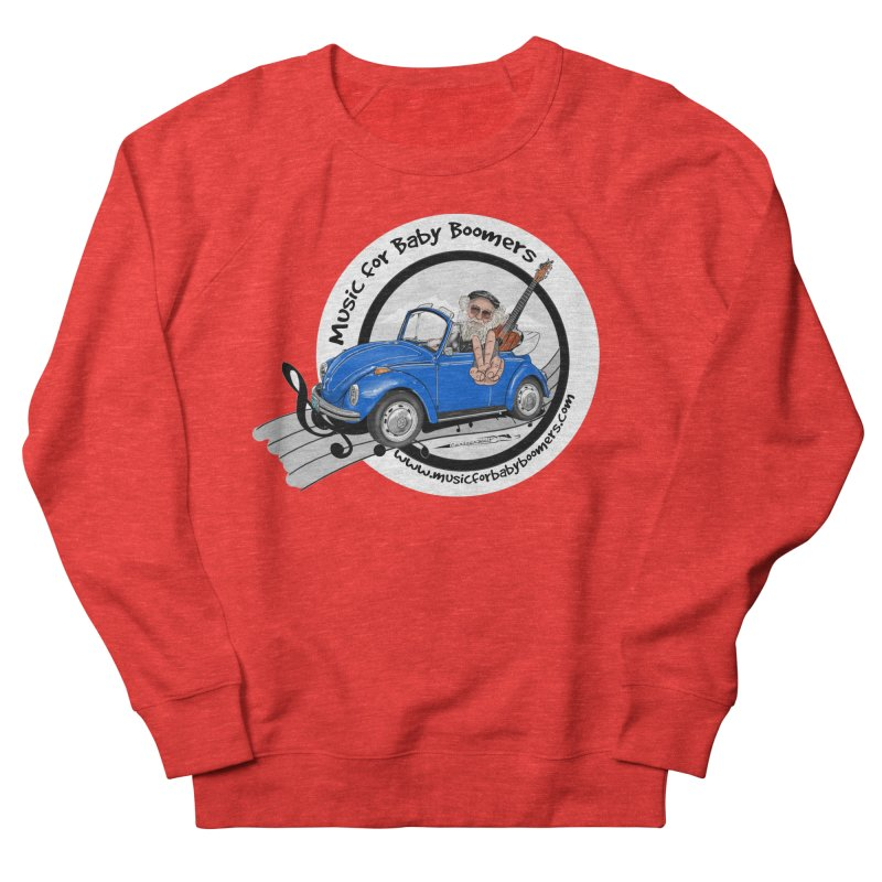 Music for Baby Boomers VW Men's Sweatshirt by PapaGreyBeard's Merchandise