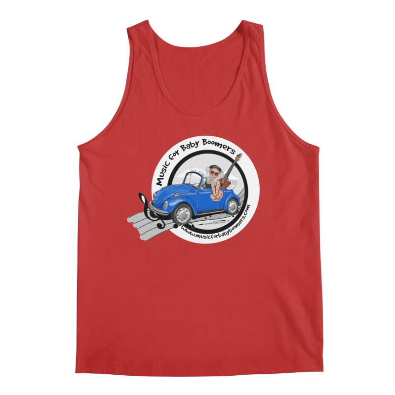 Music for Baby Boomers VW Men's Tank by PapaGreyBeard's Merchandise