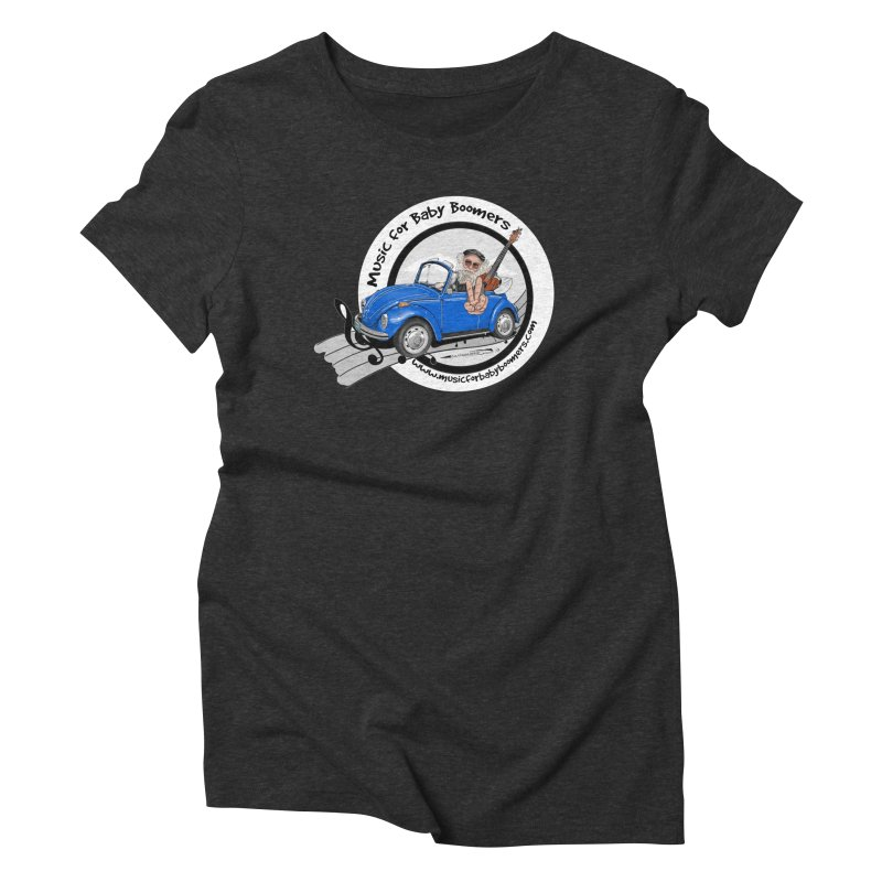 Music for Baby Boomers VW Women's T-Shirt by PapaGreyBeard's Merchandise