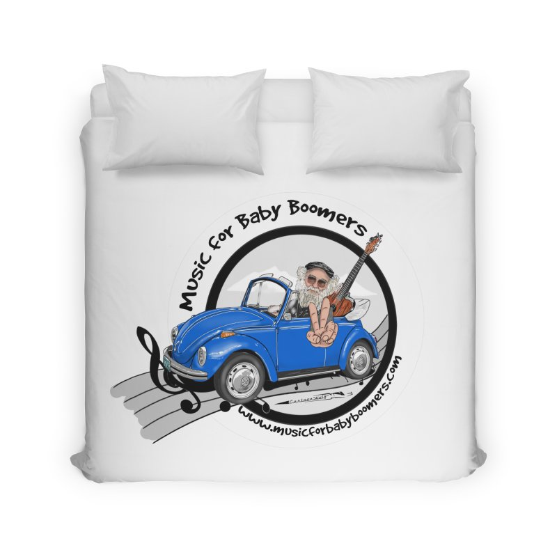 Music for Baby Boomers VW Home Duvet by PapaGreyBeard's Merchandise